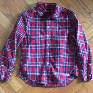 Polo by Ralph Lauren Boys Button Down Size 8